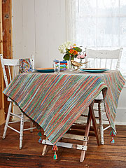 Jubilee Stripe Tablecloth