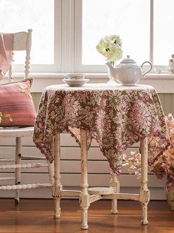Poet Waffle Tablecloth