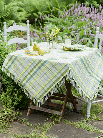 Savannah Seersucker Tablecloth