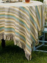 Citrine Stripe Tablecloth