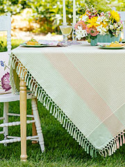 Victorian Weave Tablecloth