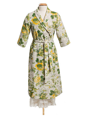 Tea Rose Terry Robe