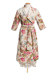 Victorian Rose Terry Robe - Antique
