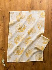 Backyard Rooster Tea Towel S/2