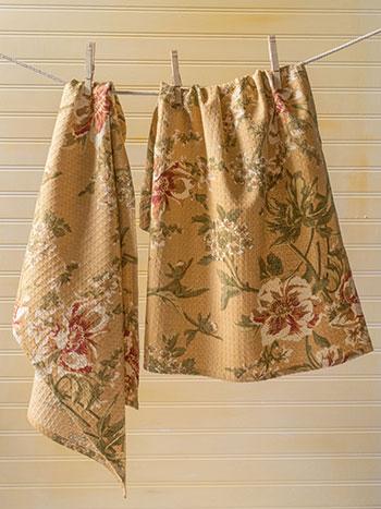 Camelia Tea Towel S/2