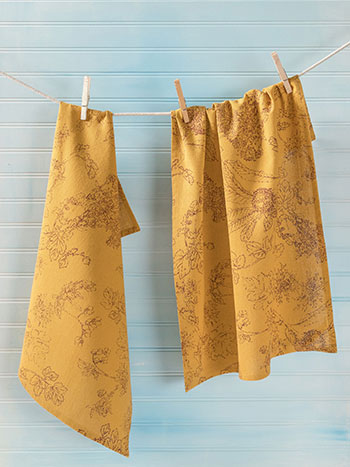 Chestnut Tea Towel