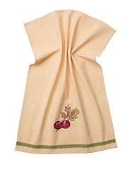 Beet Emb Towel