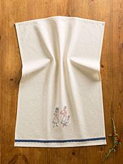 Fancy Girls Doodle Emb Towel