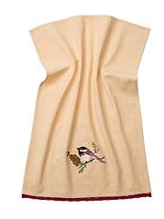 Pinecone Emb Tea Towel