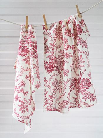 Felicity's Flowers Tea Towel