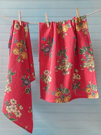 Genevieve Tea Towel S/2