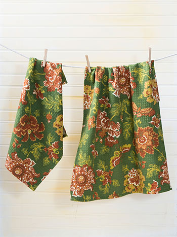 Ming Tea Towel Set of 2