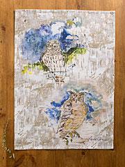 Owls Tea Towel