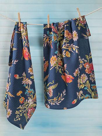 Wildflowers Tea Towel S/2