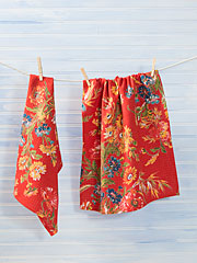 Wildflowers Tea Towel Set of 2