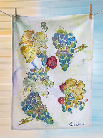 Wine Country Tea Towel