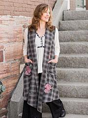 Heirloom Rose Ladies Vest