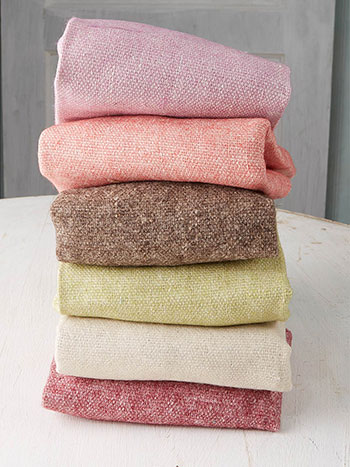 Old Fashion Rose Wool Felt Squares Set of 6