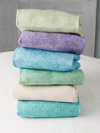 Sea Rose Wool Felt Squares Set of 6