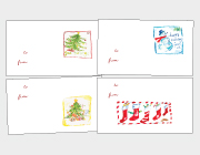 Christmas Cards Gift Tags