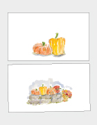 Pumpkins Place Cards
