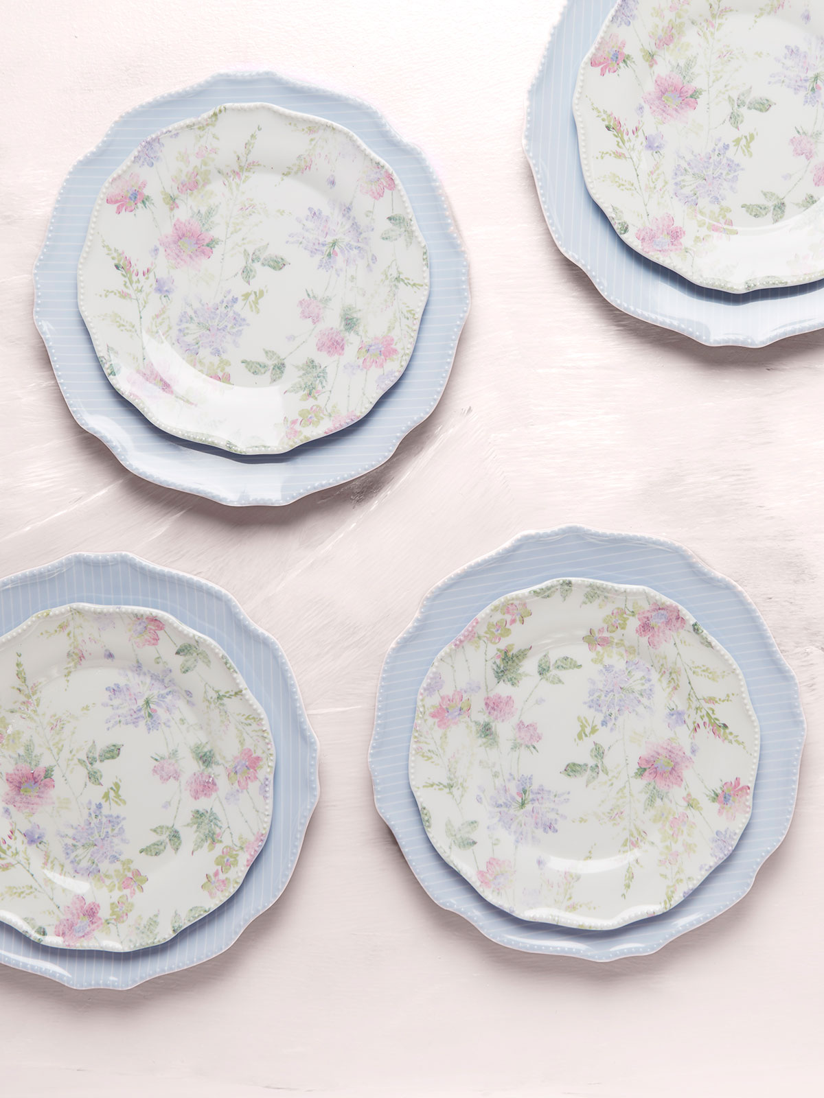 Farmhouse Melamine Plate Set