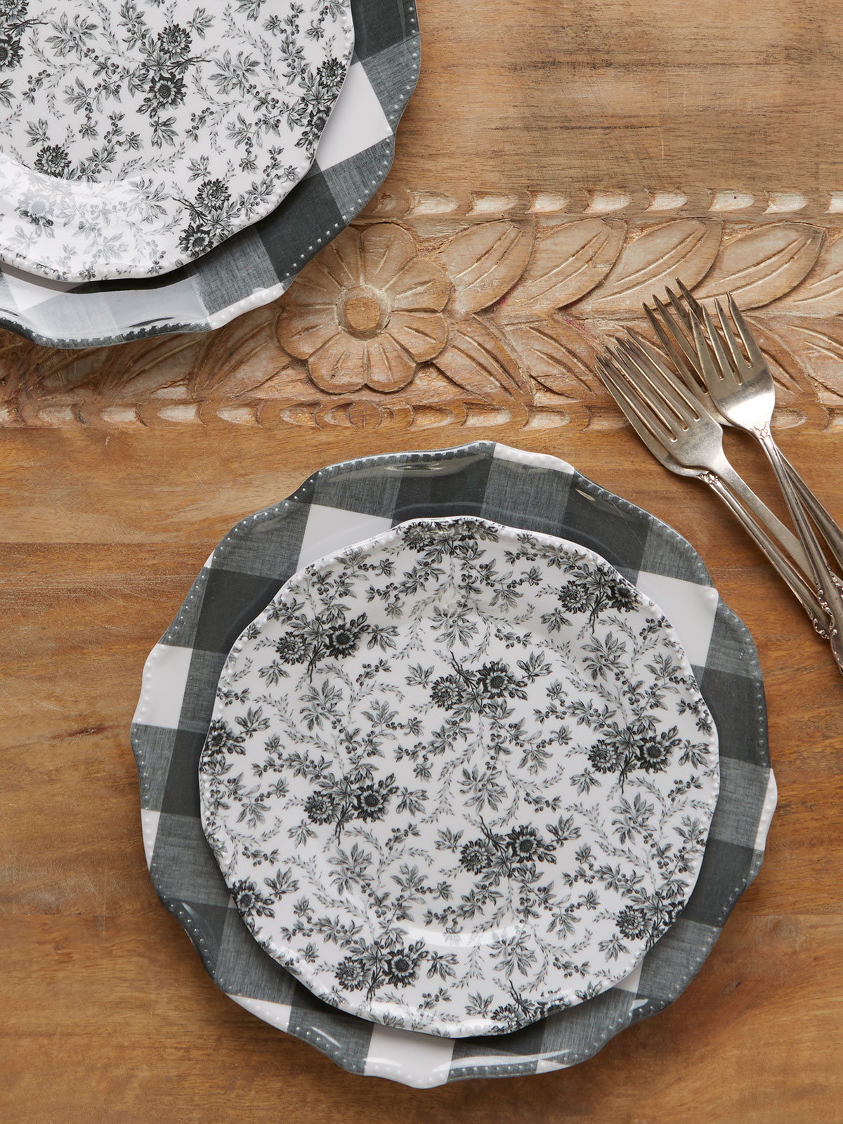 Felicity Melamine Plate Set