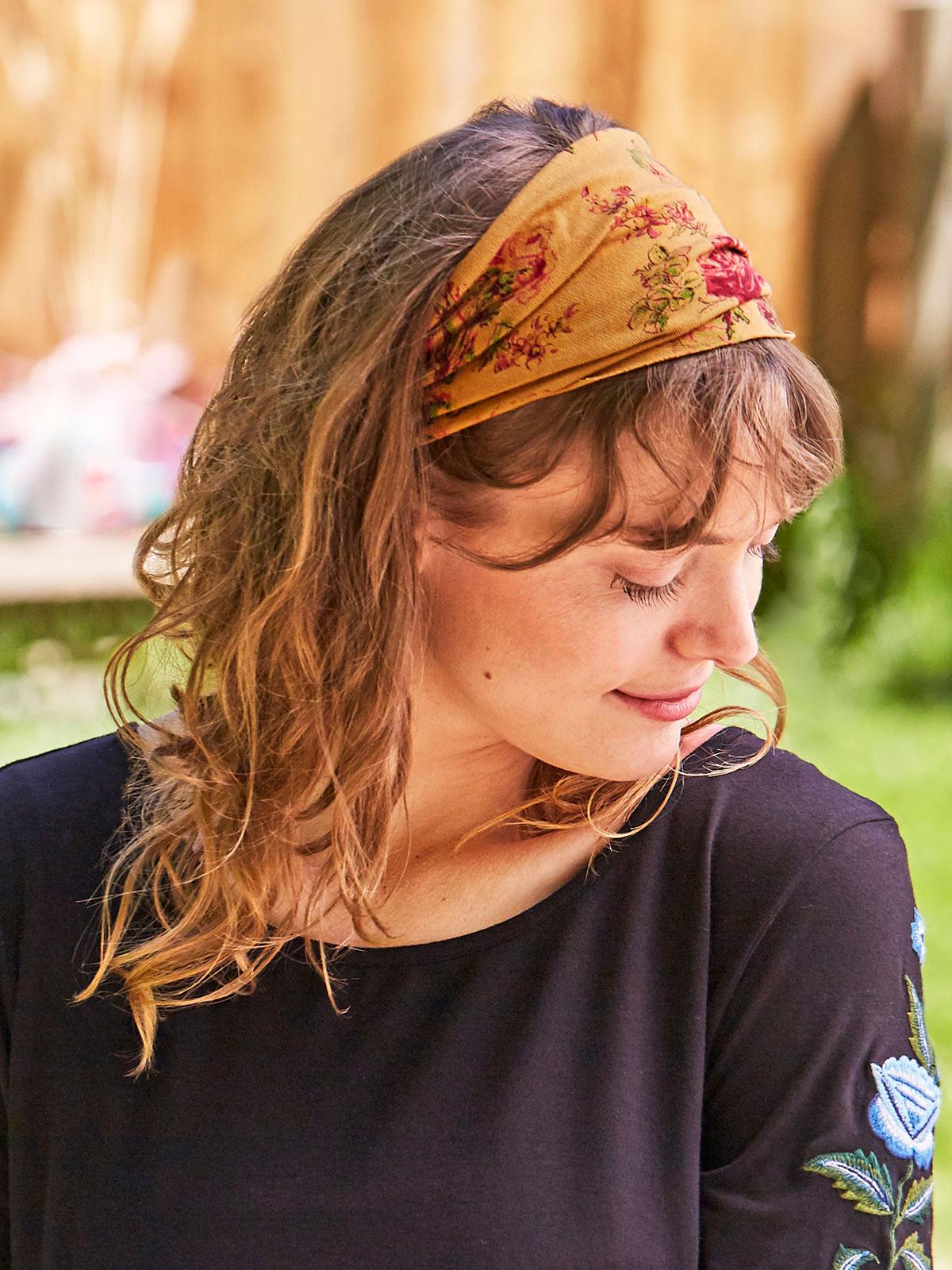 Ochre Rose Headband
