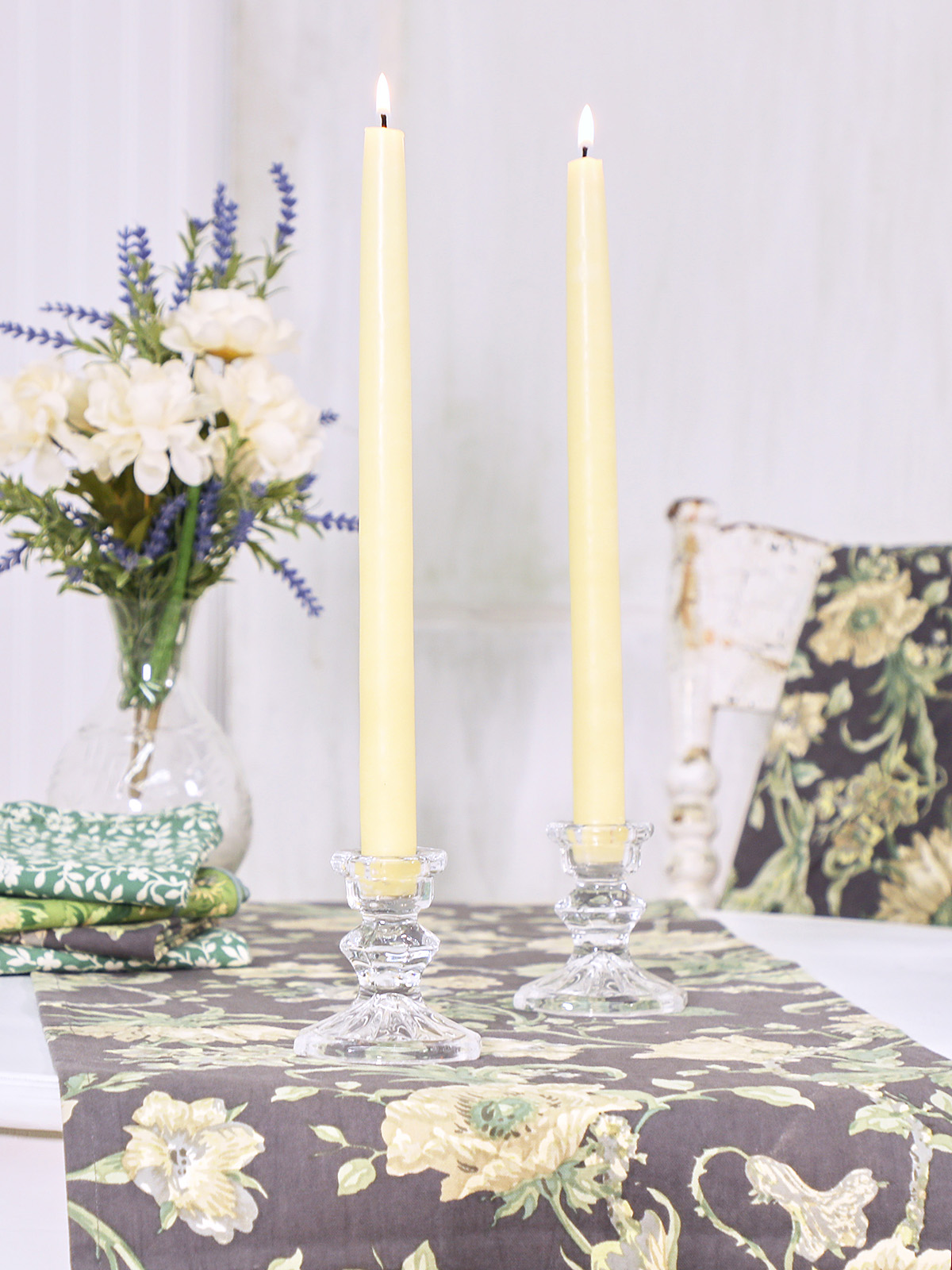 Hand Dipped Candles Set of 4