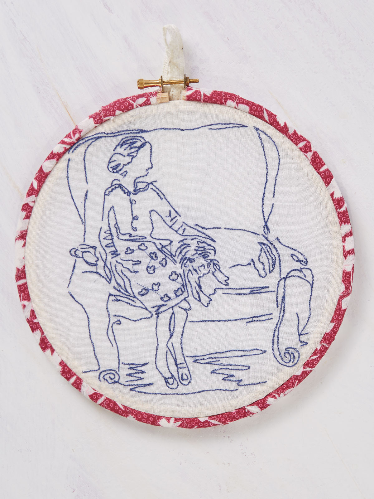Afternoon at Home Embroidery