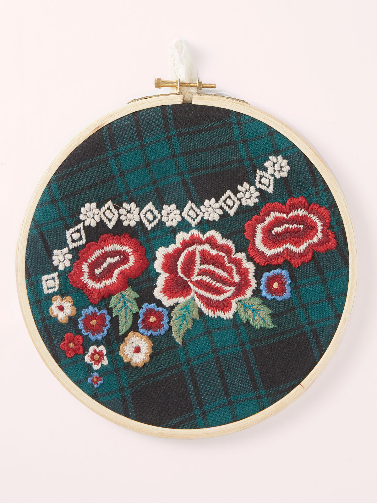 Scottish Rose Keepsake Embroidery