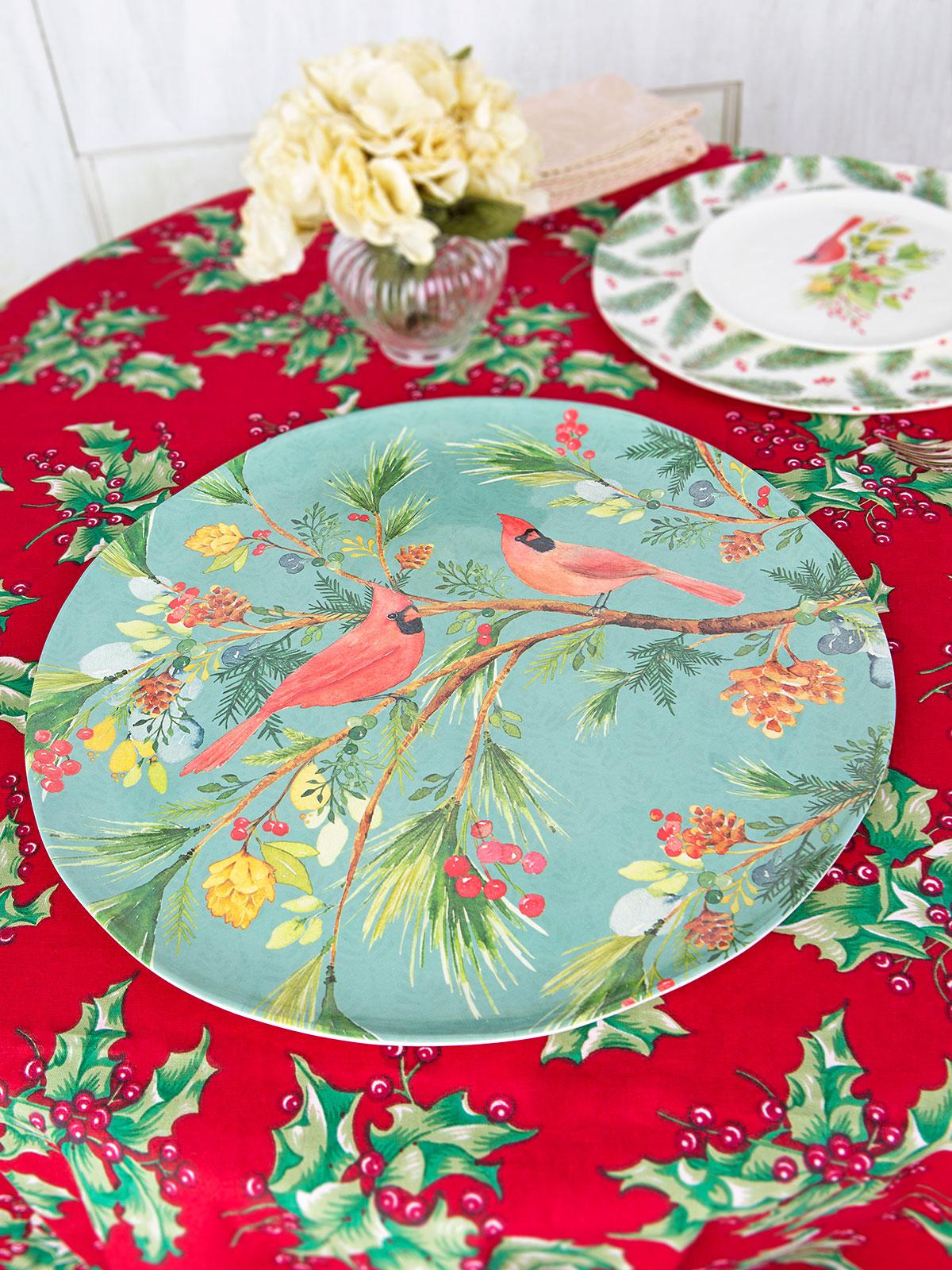 Cardinal Melamine Platter