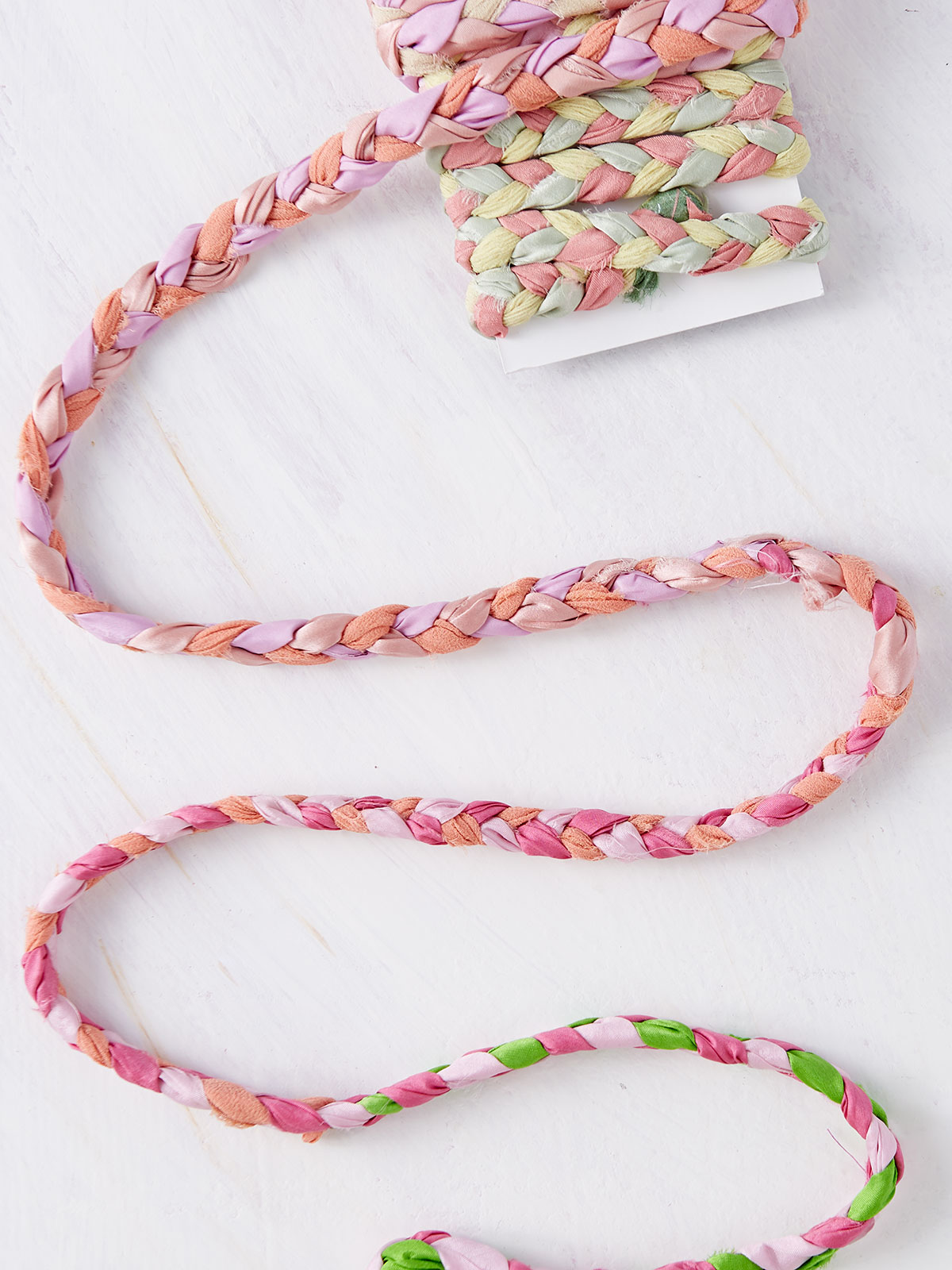 Braided Silk Ribbon