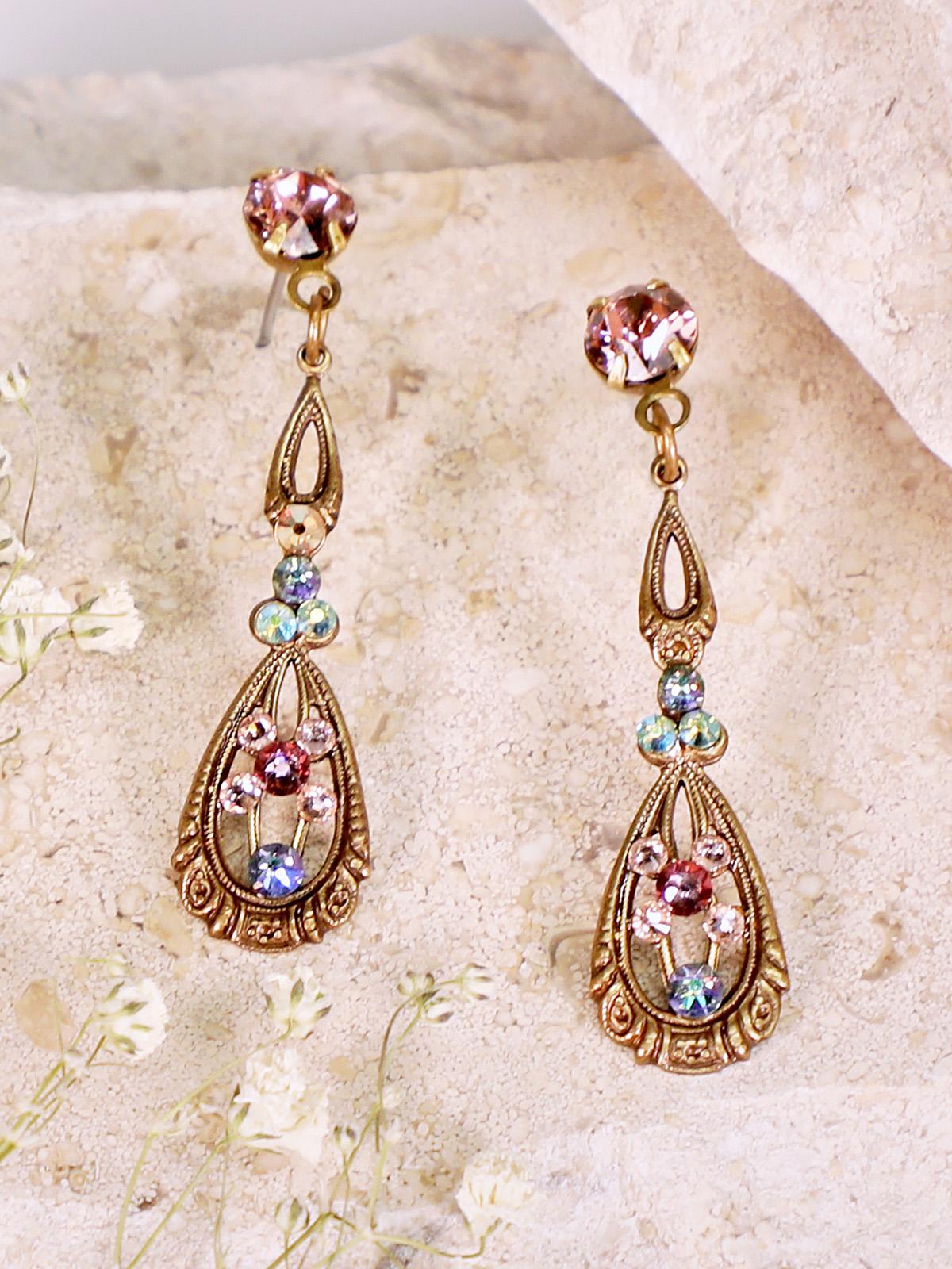 Viola Renaissance Earrings