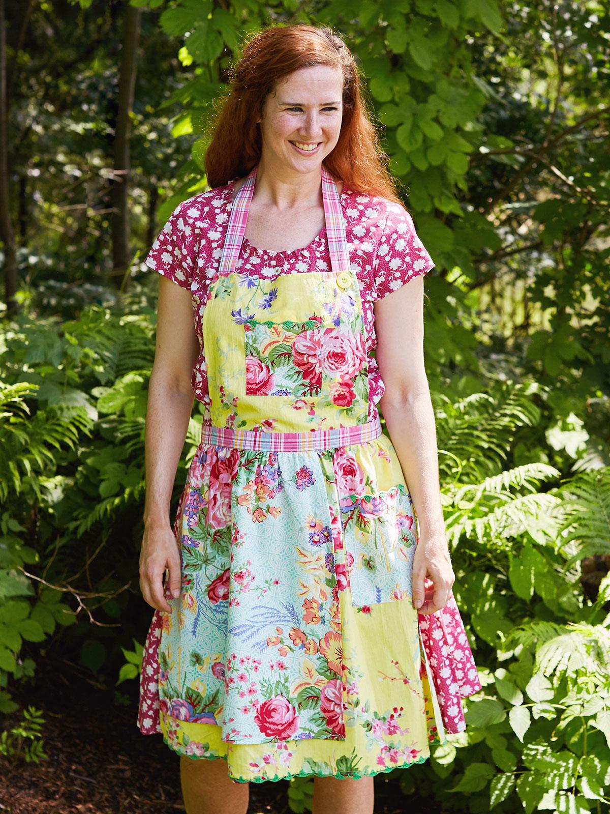 Garden Patchwork Apron