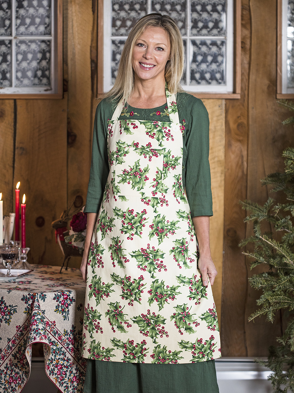 Holly Chef Apron