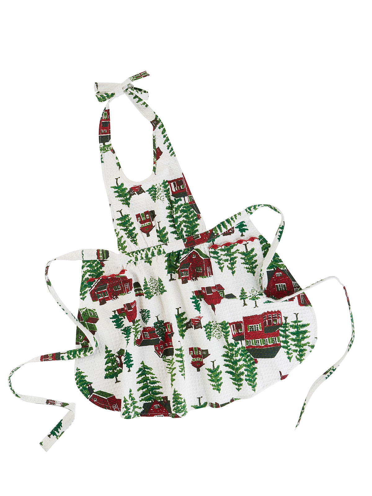 Christmas Village Kids Apron