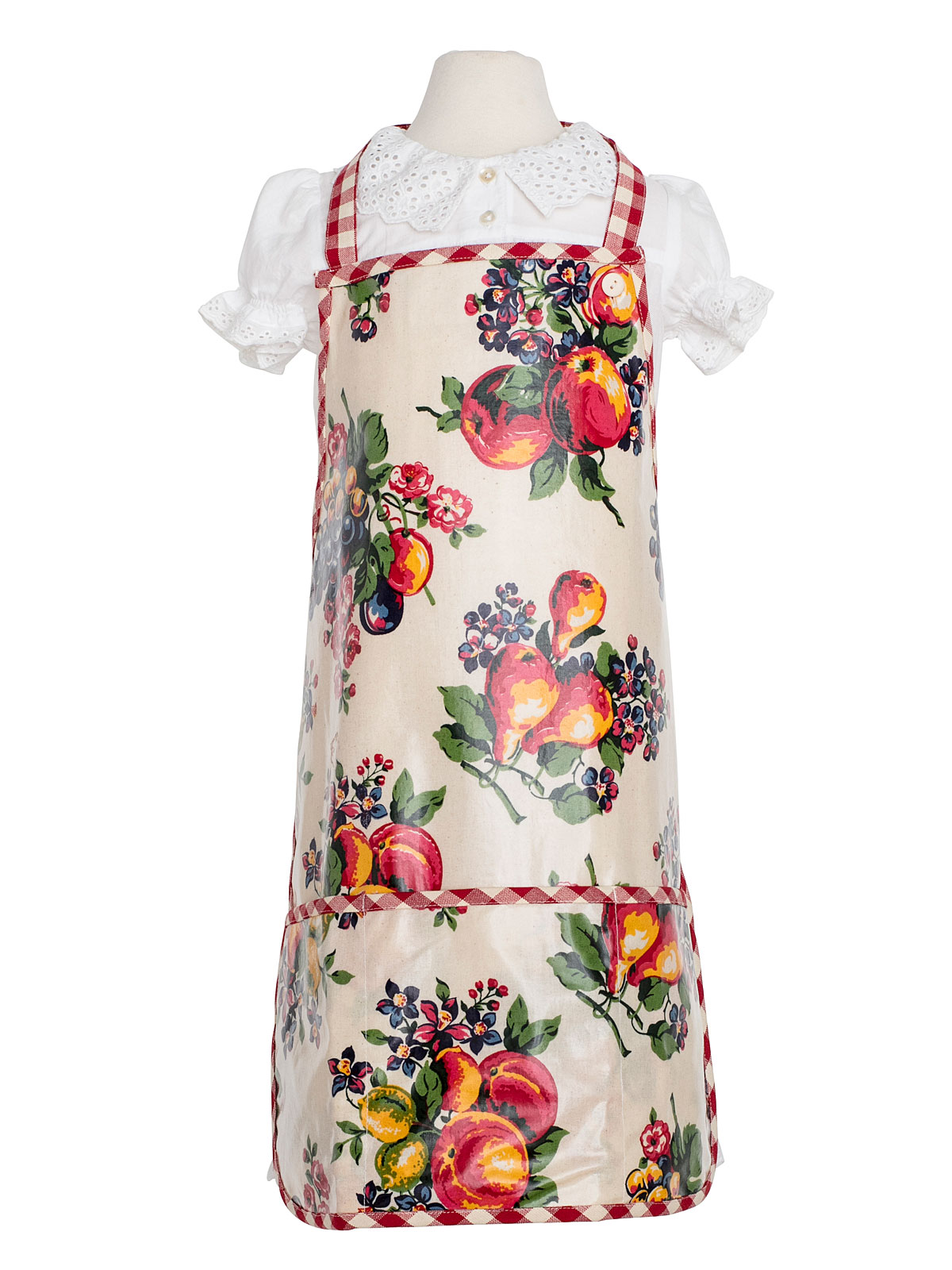 Fruit Basket Oil Kids Apron