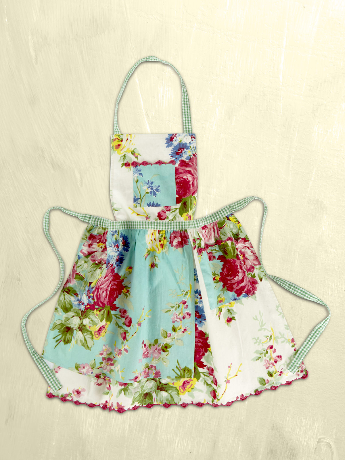Printemps Patchwork Kids Apron