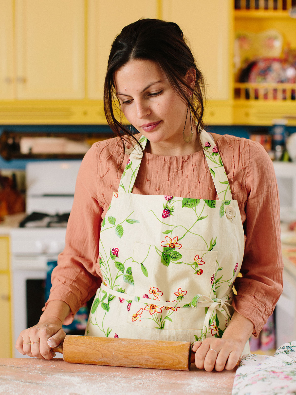 Strawberry Fields Chef Apron