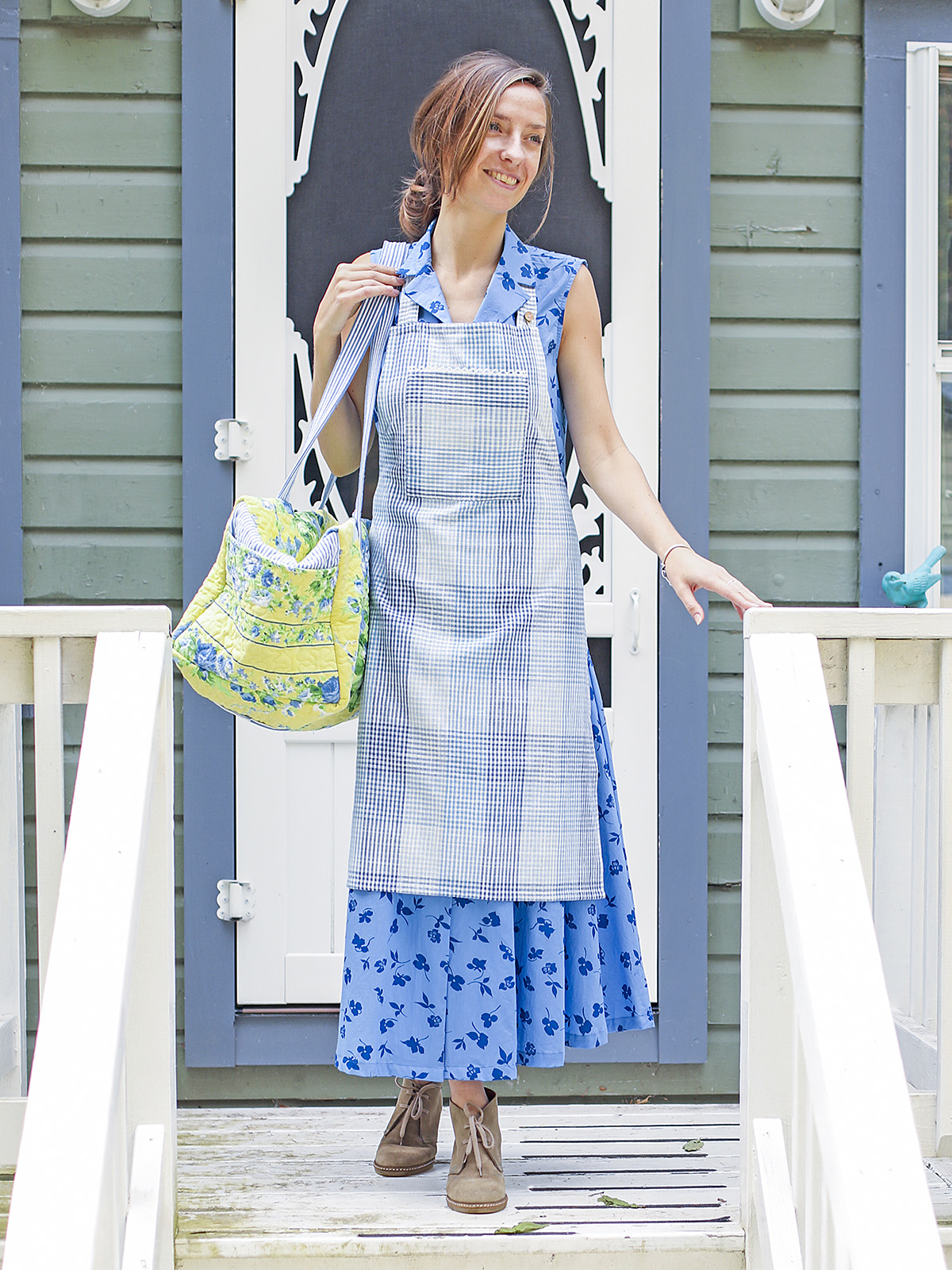 Bluebell Chef Apron