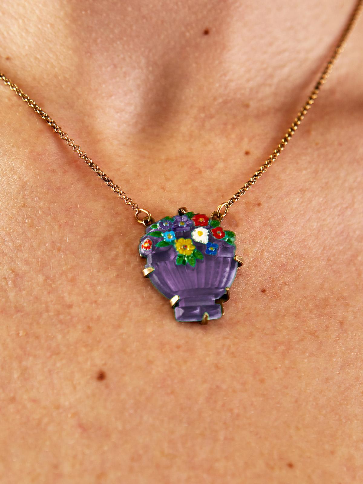 Forever Bouquet Vault Necklace