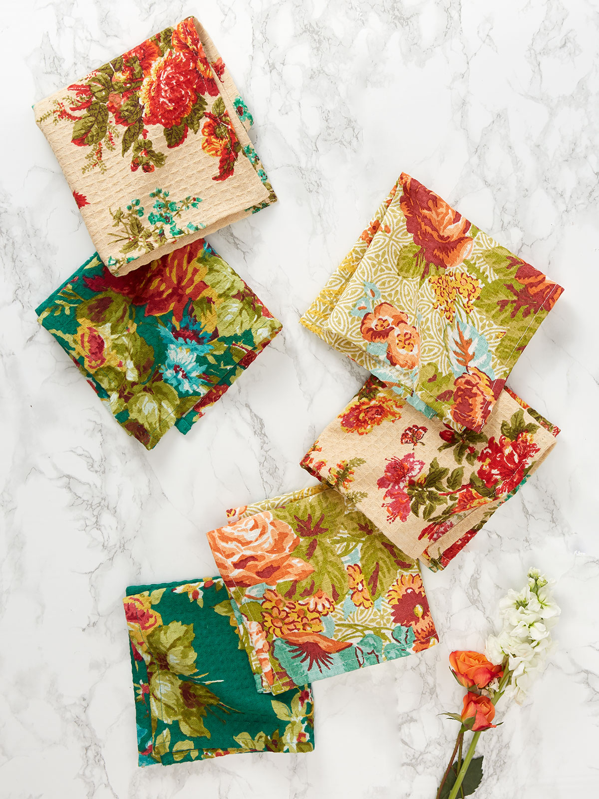 Everyday Patchwork Tiny Towel Bundle