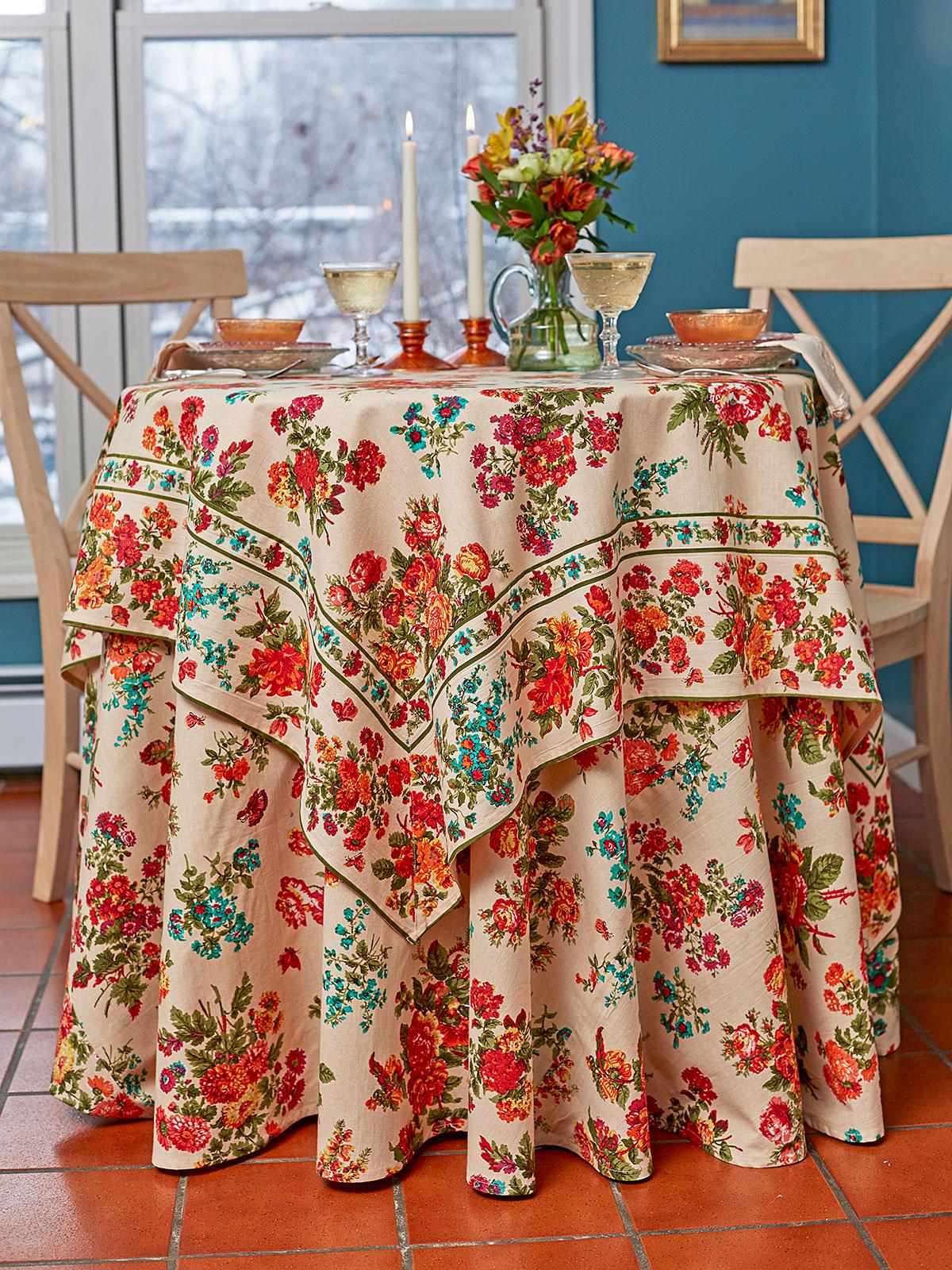 Artist Garden Table Setting