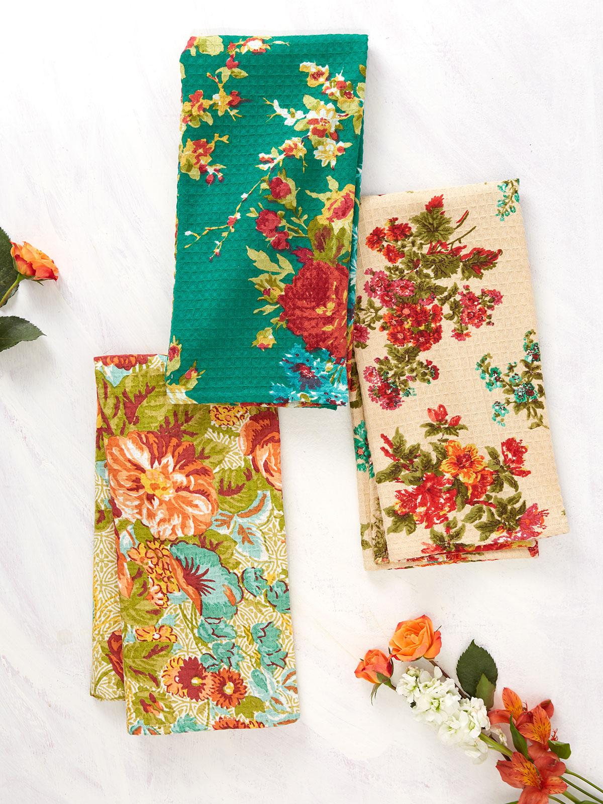 Everyday Patchwork Tea Towel Bundle