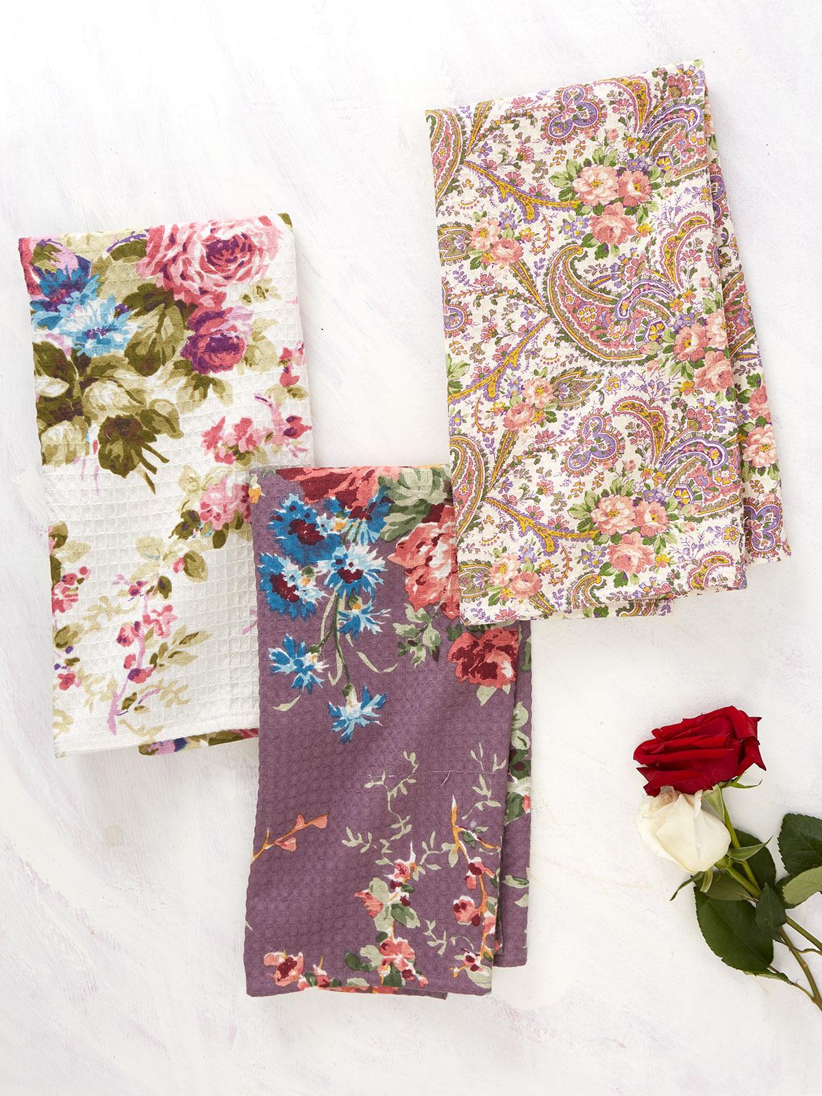 Keepsake Patchwork Tea Towel Bundle