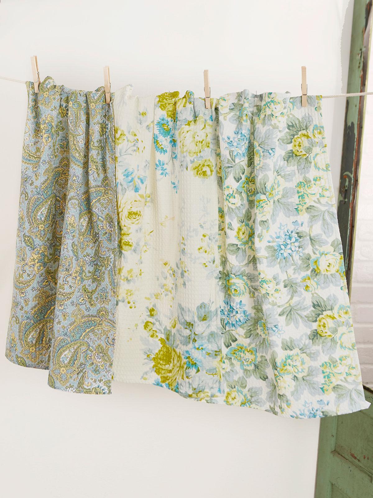 Peaceful Patchwork Tea Towel Bundle