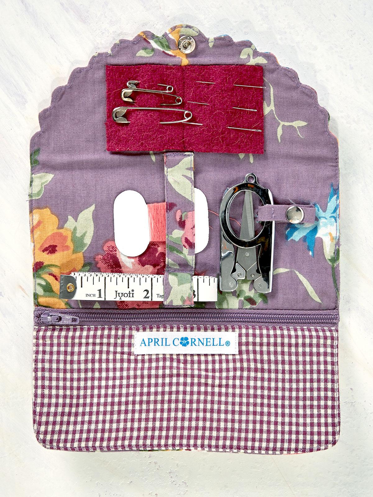 Cottage Rose Sewing Kit