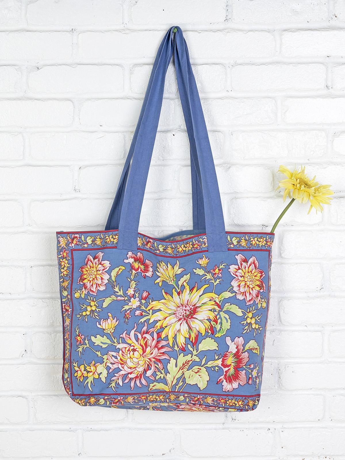 Dahlia Days Market Bag