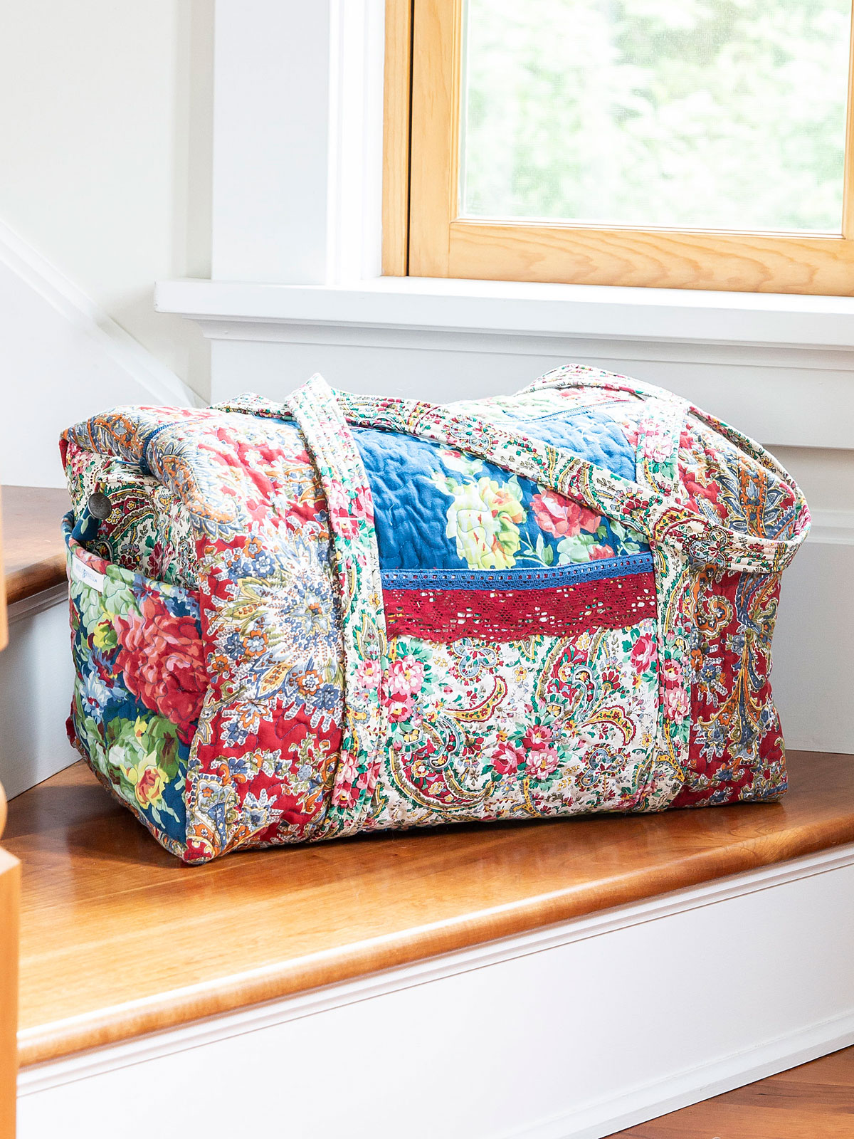 Everyday Patchwork Duffle Bag